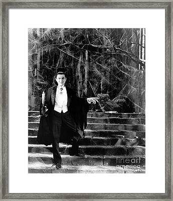 Dracula Framed Print by R Muirhead Art