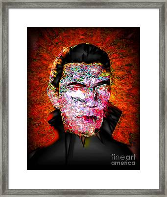 Framed Print featuring the photograph Dracula The Vampire 20170415 by Wingsdomain Art and Photography
