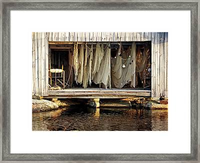 Dragnet Framed Print
