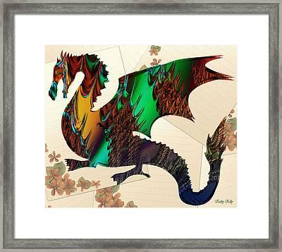 Drago Framed Print