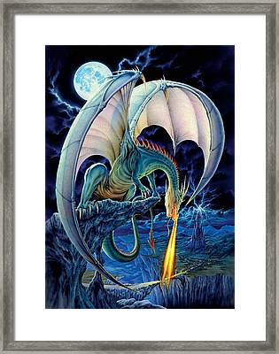 Dragon Causeway Framed Print by The Dragon Chronicles - Robin Ko