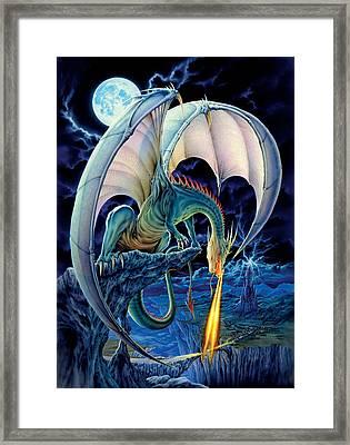 Dragon Causeway Framed Print