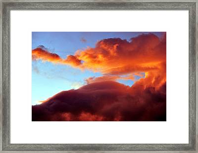 Dragon Cloud Framed Print