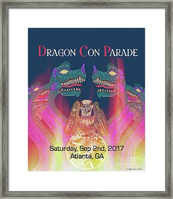 Dragon Con Parade Framed Print by Megan Dirsa-DuBois