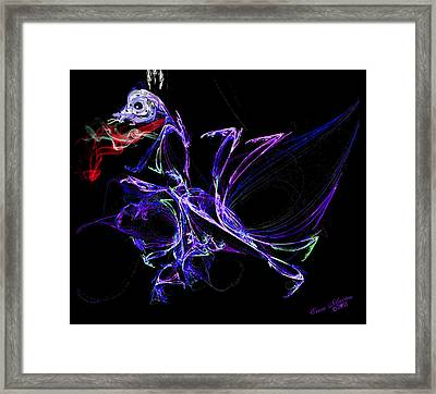 Dragon Dance Framed Print by EricaMaxine  Price
