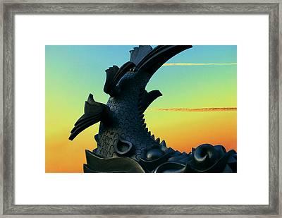 Dragon Fish Framed Print