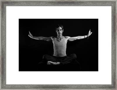 Dragon Fly Framed Print by MAriO VAllejO