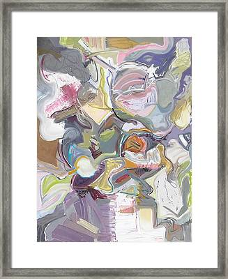 Improvisation #9 Framed Print by Philip Rader