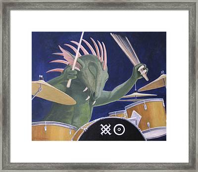 Dragon Heat Framed Print