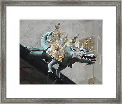 Dragon Framed Print by James Lukashenko