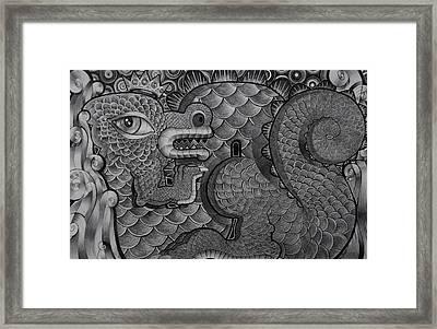 Dragon King Framed Print