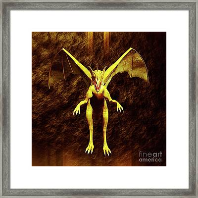 Dragon Lord By Sarah Kirk Framed Print