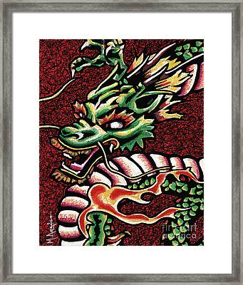 Dragon Framed Print