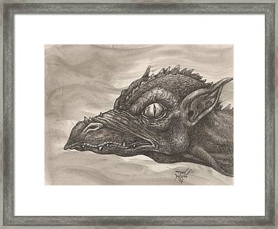 Dragon Portrait No. 2 Framed Print