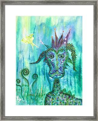 Dragon Prince Framed Print