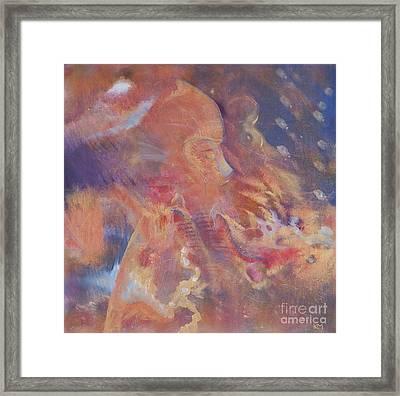 Dragon Prince Framed Print by Kate Maconachie