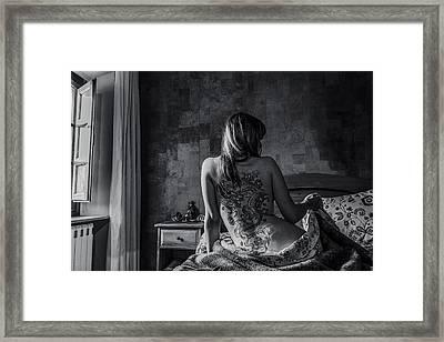 Dragon Queen Framed Print