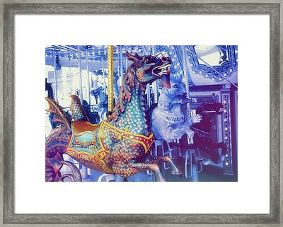 Dragon Rider Framed Print by JAMART Photography