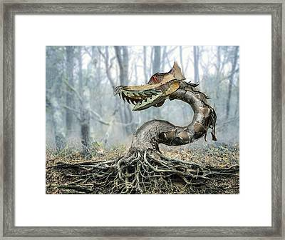 Dragon Root Framed Print