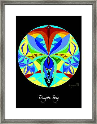 Dragon Song Framed Print