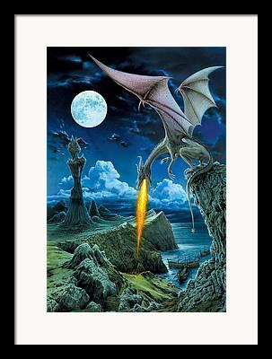 Sea Dragon Framed Prints