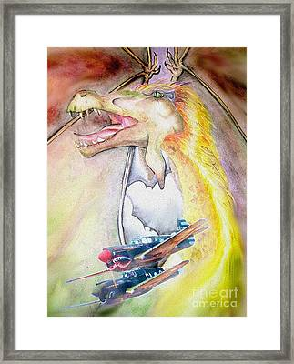 Dragon Squadron Framed Print
