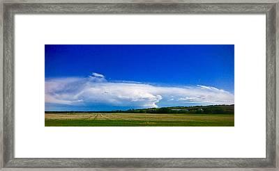 Dragon Storm Framed Print
