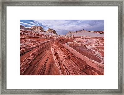 Framed Print featuring the photograph Dragon Tail by Chuck Jason