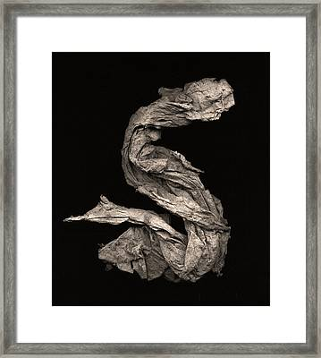 Dragon Wakes Up Framed Print