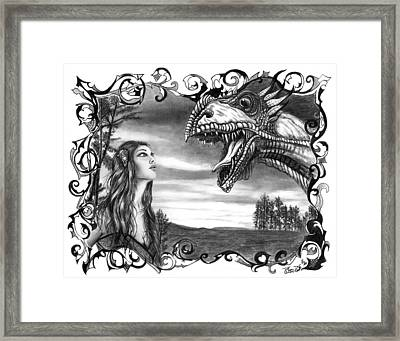 Dragon Whisperer  Framed Print