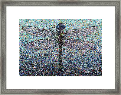 Dragonfly #1 Framed Print by Michael Glass