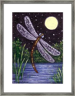 Dragonfly Dreaming Framed Print