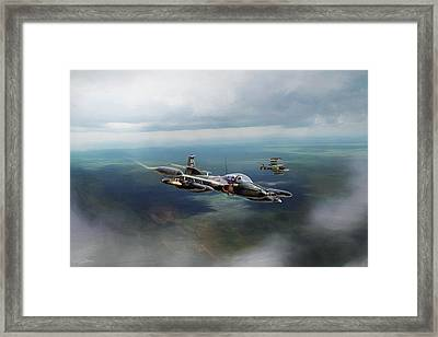 Dragonfly Special Operations Framed Print by Peter Chilelli