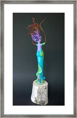 Dragonfly Will O' The Wisp Framed Print