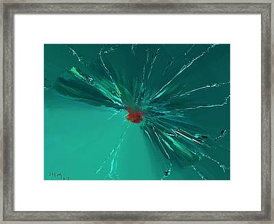 Dragonflys Framed Print by John Mueller