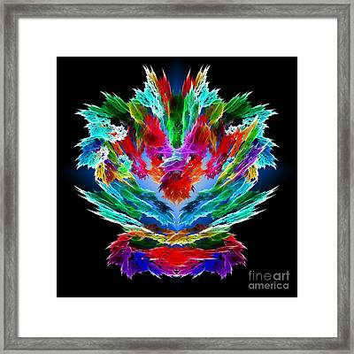 Dragon's Breath Framed Print by Methune Hively