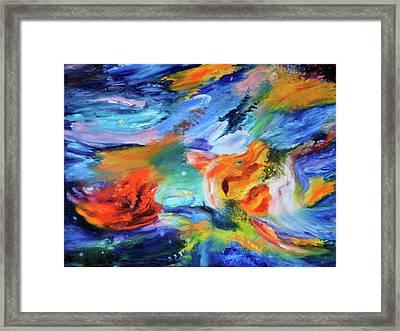 Dragon's Head Nebula Framed Print