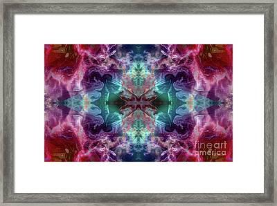 Dragons Lair Framed Print by Tlynn Brentnall