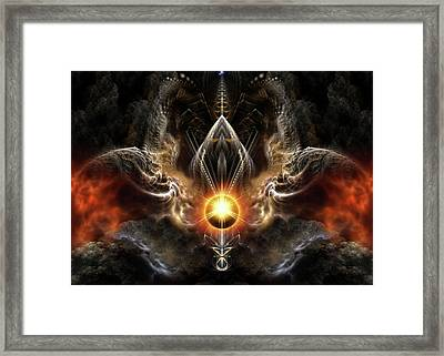 Dragons Light Framed Print