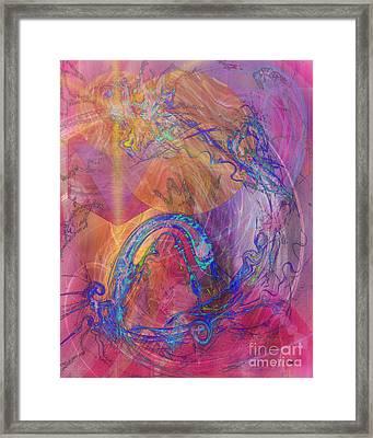 Dragon's Tale Framed Print by John Beck