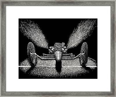 Dragstar Framed Print