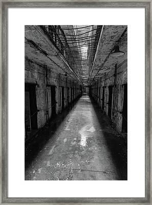 Drainage Framed Print by Kristopher Schoenleber