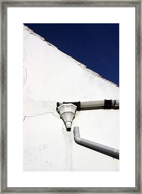 Drained 4 Framed Print by Jez C Self