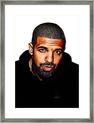 Drake 2016 Framed Print by The DigArtisT