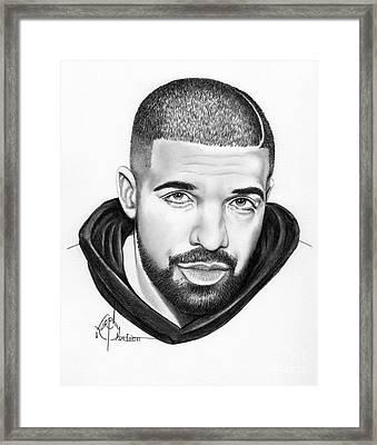 Drake Framed Print