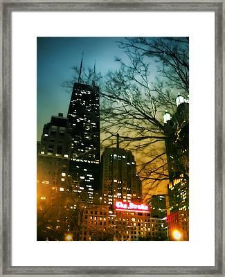 Drake Palmolive Hancock Framed Print
