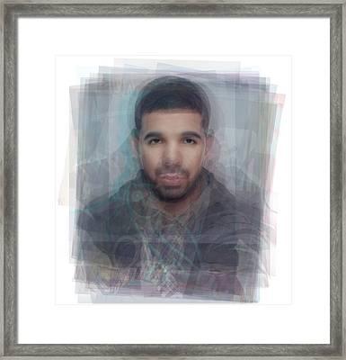 Drake Portrait Framed Print