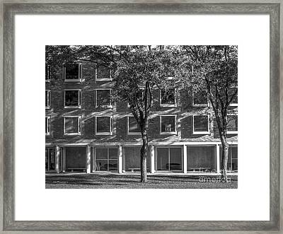 Drake University Goodwin Kirk Residence Hall Framed Print by University Icons