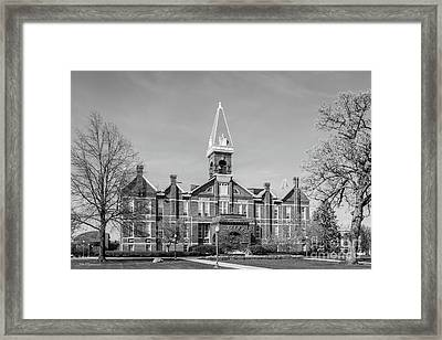 Drake University Old Main Framed Print by University Icons