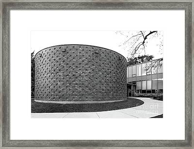 Drake University Oreon Scott Chapel Framed Print by University Icons